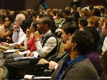 Audience at Minority Health Conference